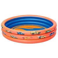 Бассейн детский надувной HotWheels 93403 Bestway, 122х25 см