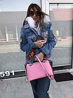Женская сумка By the Way от FENDI розовая