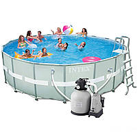 Каркасный бассейн Intex 28337. Ultra Frame Pool - 549 х 132 см