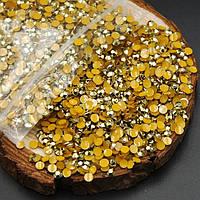 Стразы золото 2mm (100 шт)