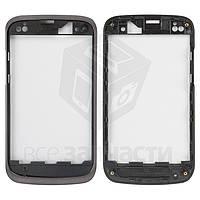 Передняя панель корпуса для мобильного телефона Fly IQ430 Evoke, черная, original, #M109-E83980-100/M109-E8398