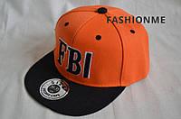 Кепка FBI подросток, Фирменные кепки Snapback