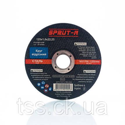 Круг (диск) отрезной SPRUT-A 150х1,6х22 (SP1501622), фото 2