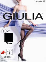 Колготки Gulia FLORY 40 Den черные 4-ка