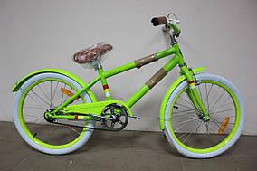 "Велосипед детский 20"" DOROZHNIK ARTY 2017 салат."