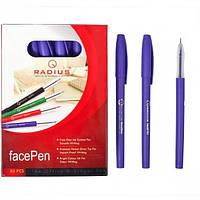 Ручка FaсePen (0.7мм) фиолетовая