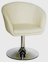 Парикмахерское кресло Нью Йорк бежевое