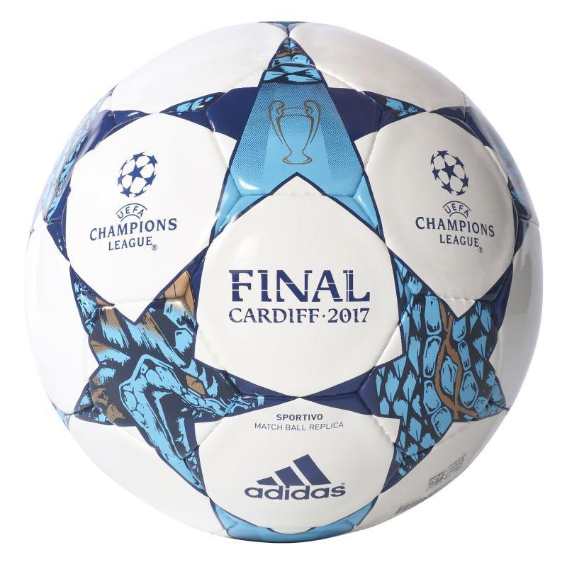 Футбольный мяч Adidas Champions League Finale 17 Cardiff Sportivo AZ5203