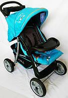 Прогулочная коляска Sigma K-038F-2 голубой, фото 1