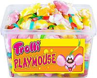 Желейные конфеты Мышки Тролли Playmouse Trolli 1200гр. 150шт.