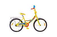 "Велосипед детский 16"" FORMULA FITNESS желтый"
