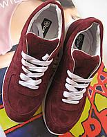 Dolce Gabbana 2017 кроссовки женские натуральная кожа замша обувь кросовки марсала