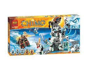 Конструктор Bela 10296 Чима Ледяной замок сэра Фангара (аналог Lego Legends of Chima 70147)