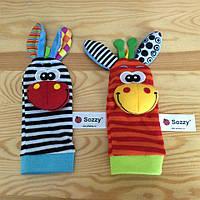Детские носочки  погремушки, фото 1