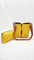 Вместительная женская сумка Fendi