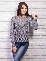 Стильная модная женская кофточка с украшением цепочка