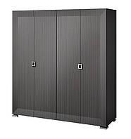 KARAT  Black Шкаф для одежды, 4-х дверный