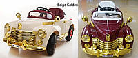 Детский электромобиль Buick RETRO, пульт р/у, надувные колеса