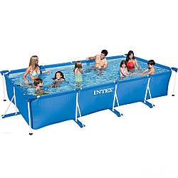 Каркасный бассейн Intex 28273. Сборный Small Frame 450 х 220 х 84 см