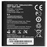 Аккумулятор (Батарея) для Huawei Y220/Y310/Y320/Y321/Y330/G308/T883 0/U8812 HB5N1H (1500 mAh)