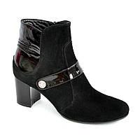 Женские классические демисезонные полуботинки на невысоком каблуке. 38 размер