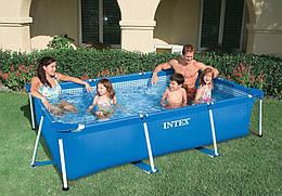 Каркасный бассейн Intex 28270 (58980). Сборный Small Frame 220 х 150 х 60 см