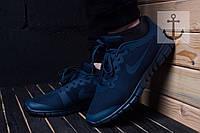 Мужские кроссовки Nike Free Run 3.0 🔥 (Найк Фир Ран) Синие