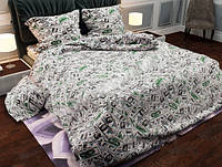 Евро комплект постельного белья Доллар