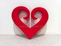 Сердце из пенопласта H17