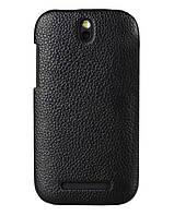 Чехол Melkco Snap кожа для HTC One SV/One ST/T528T, черный