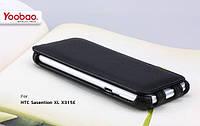 Чехол Yoobao Lively leather для HTC Sensation XL X315e, черный