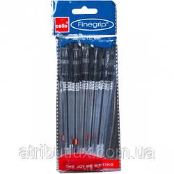 Ручка масляная Finegrip (1.0мм) черная