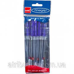 Ручка масляная Finegrip (1.0мм) фиолетовая