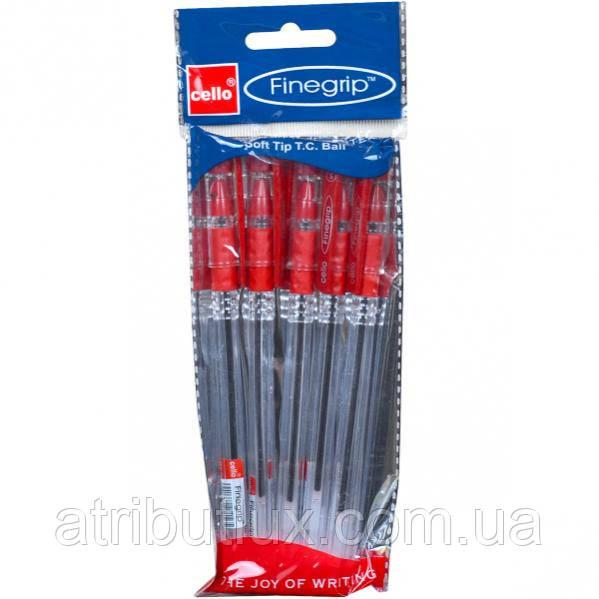 Ручка масляная Finegrip (1.0мм) красная