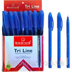 Ручка TriLine тонированная (0.7мм) синяя