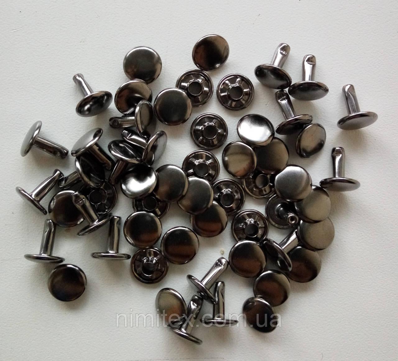Хольнитен двосторонній 9 мм чорний нікель
