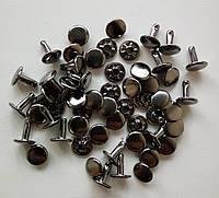 Хольнитен двусторонний 9 мм черный никель