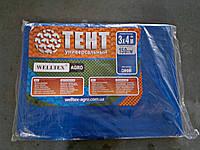 Тент полипропиленовый 3х4 м плотность 150 г/м2