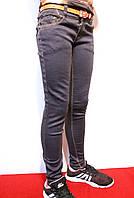 Осенние серые стрейчевые джинсы для девочек на рост от 104 до 152см. (4-12лет) Good kids. Польша.