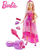 Barbie Endless Hair Kingdom Snap 'n Style Princess ( Кукла Барби Королевские косы - Роскошные Волосы DKB62 )