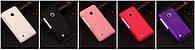 Чехол пластиковый для Nokia Lumia 820, черный