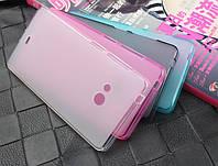 Чехол TTech силикон для Nokia Lumia 820, пурпурный