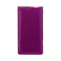 Чехол Melkco Jacka кожа для Nokia Lumia 820, пурпурный