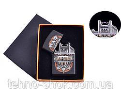 "USB зажигалка ""Harley-Davidson"" (Электроимпульсная) №4776-4"
