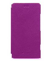 Чехол-книжка Melkco для Nokia Lumia 820, пурпурный