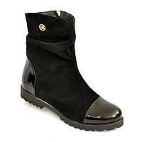 Женские демисезонные ботинки на низком ходу. 37 размер в наличии