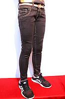 Осенние джинсы для девочек шоколадного цвета. На рост от 104 до 152см.(4 до 12 лет)Good kids.
