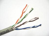 Провод UTP 4х2х0,5 5 кат CCA