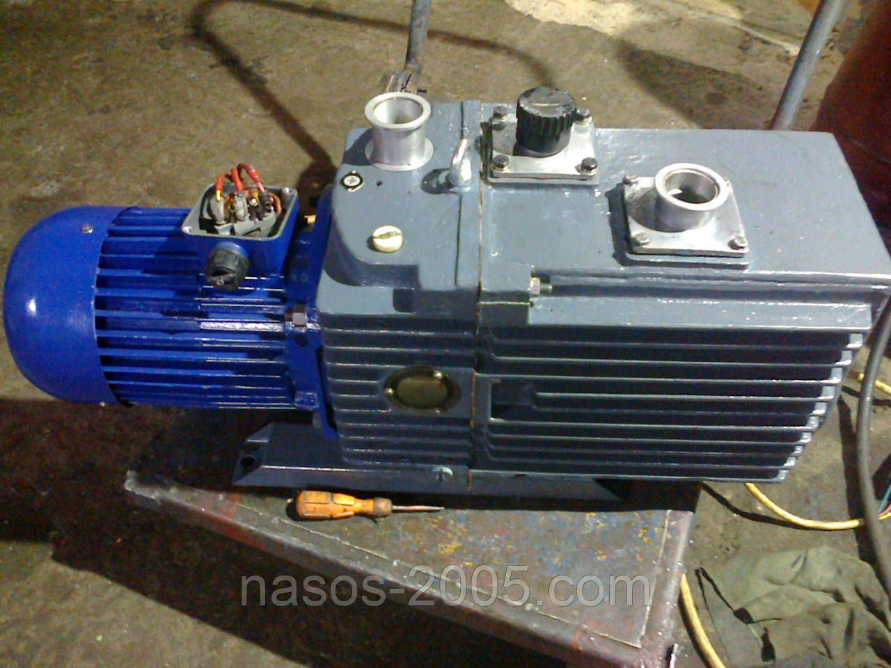 Насос 2НВР-60Д насос вакуумный 2НВР-60Д роторный вакуумный насос