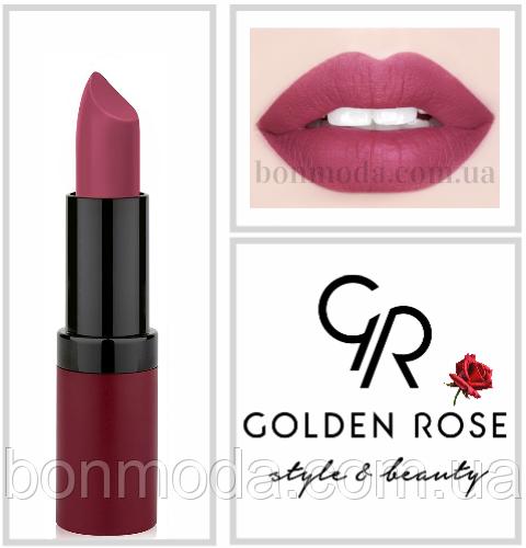 Матовая Помада Golden Rose Velvet Matte № 14